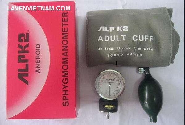 Bộ máy đo huyết áp cơ ALPK2 được sản xuất và nhập khẩu trực tiếp từ hãng ALPK2 Nhật Bản.