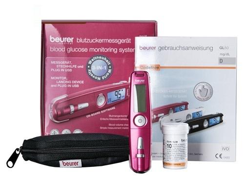 Máy đo đường huyết Beurer GL50 - Đức