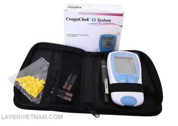 Máy đo độ đông máu Coaguchek XS - Đức