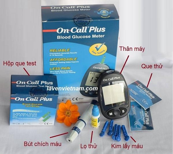 Máy đo đường huyết OnCall Plus