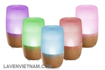 Đèn LED 7 màu thay đổi dịu nhẹ, bạn có thể sử dụng để làm đèn ngủ rất tiện dụng và đẹp lạ.