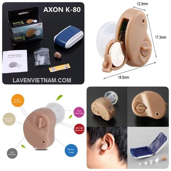 Thiết kế máy trợ thính nhỏ gọn và có tính thẩm mỹ cao