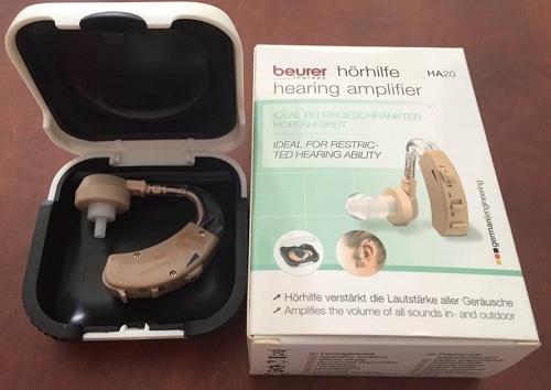 Máy trợ thính Beurer HA20 có 3 chế độ nghe