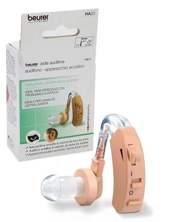 Máy trợ thính Beurer HA20 có 3 chế độ nghe, dễ dàng điều chỉnh cho phù hợp tình trạng giảm thính lực