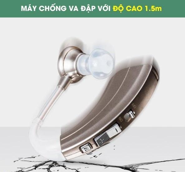 Chất liệu và thiết kế máy trợ thính chống va đập