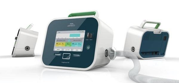 Thiết bị giúp ho CoughAssist E70 được thiết kế để sử dụng trong bệnh viện, phòng khám hoặc trong gia đình