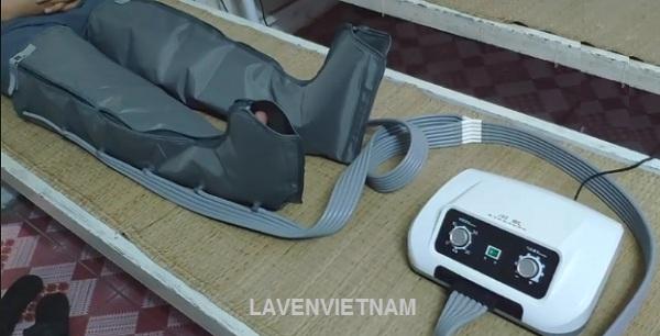 Máy massage chân nén khí trị liệu KZY