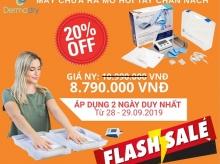 FLASH SALE CHÀO THÁNG 10 - Tri ân khách hàng cùng Dermadry Việt Nam