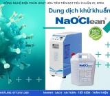 Nước Anolyte NaOClean dung dịch khử khuẩn không hóa chất tốt nhất