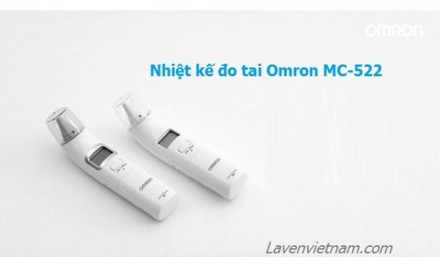 Nhiệt kế điện tử đo tai Omron MC-522