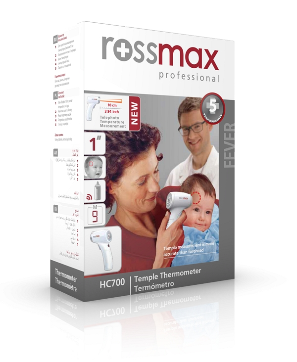Nhiệt kế đo nhiệt độ Rossmax HC700