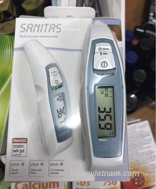 Nhiệt kế điện tử đo tai trán Sanitas SFT65