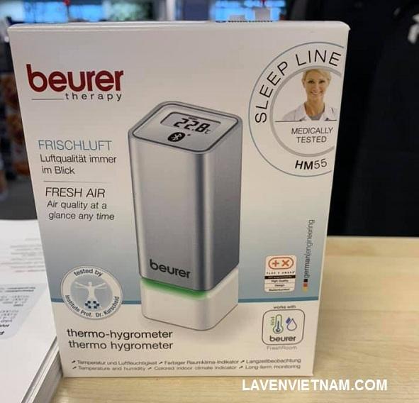 Máy đo nhiệt độ và độ ẩm Beurer HM55