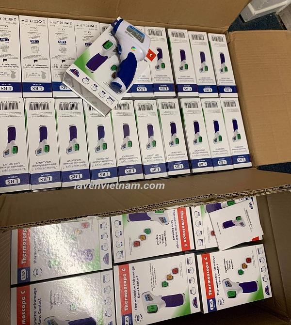 Nhiệt kế đo trán hồng ngoại LBS thermoscope C New - Pháp
