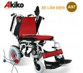Xe lăn điện Akiko A97 có 2 bộ đệm