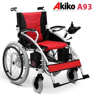 Xe lăn điện Akiko A93 cao cấp nhập khẩu dành cho người già, người khuyết tật chân