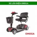 Xe điện Omega 4 bánh cho người già, người khuyết tật
