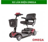 Xe lăn điện Omega cho người già, người khuyết tật
