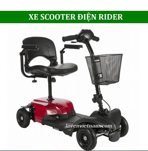 Thiết kế là Xe lăn điện Rider cao cấp chuyên dụng dành cho người già, người khuyết tật