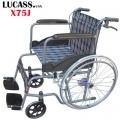 Xe lăn Lucass X75J có phanh