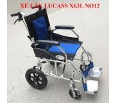 Xe lăn hợp kim nhôm Lucass X63L NO12