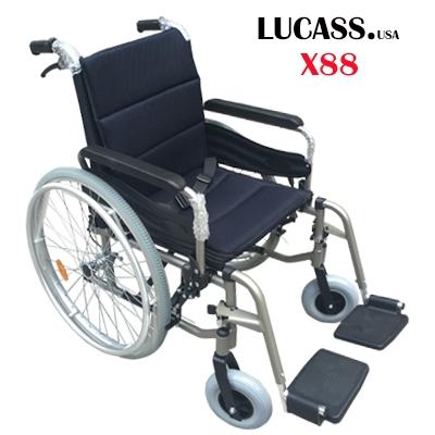 Xe lăn hợp kim nhôm Lucass X88 17kg