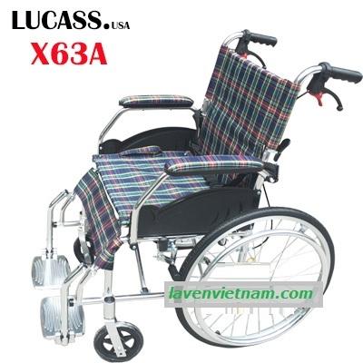Xe lăn hợp kim nhôm Lucass X63A - X63L