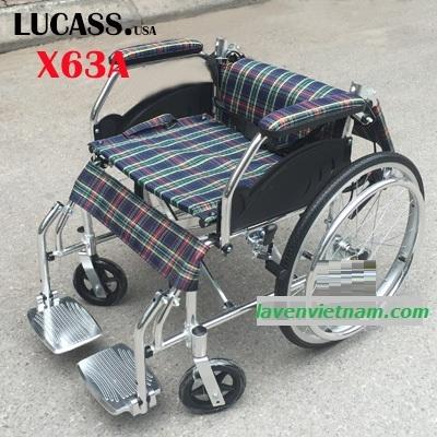 Xe lăn hợp kim nhôm Lucass X63A - X63L 2