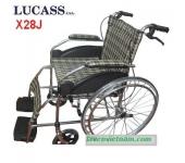 Xe lăn Lucass X28J có phanh