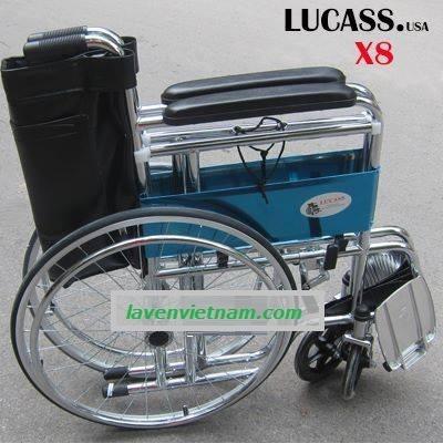 Xe lăn có bô Lucass X8 3