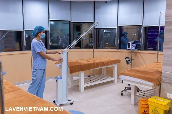 Phù hợp khử trùng mùa dịch và phòng khám, bệnh viện