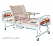 Giường bệnh nhân 4 tay quay E28