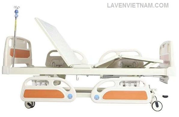 Giường bệnh nhân 3 tay quay Maidesite M08 cao cấp -0