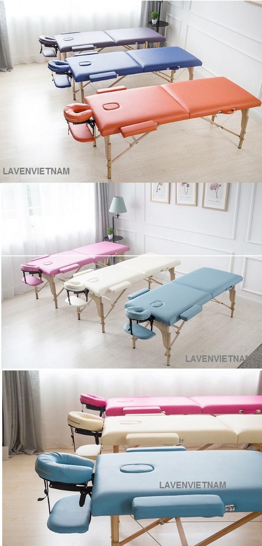 Giường gấp massage xoa bóp bấm huyệt, Giường massage xoa bóp bấm huyệt