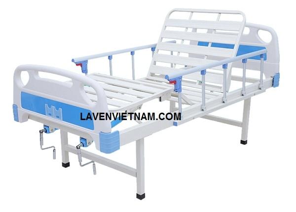 Giường bệnh nhân 2 tay quay 6 chức năng GB-LV2 có giá thành phù hợp với nhiều gia đình