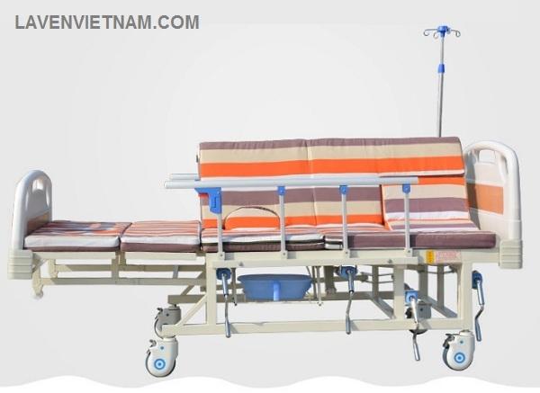 Giường bệnh nhân 5 tay quay đa năng