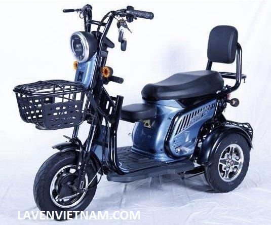 Xe điện 3 bánh có nhiều màu cho bạn lựa chọn