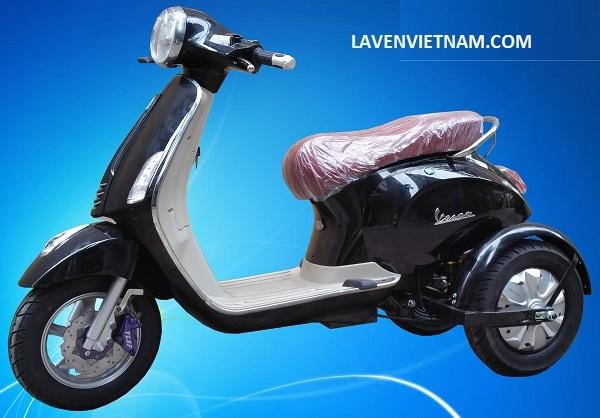 Xe điện 3 bánh Vespa X3-LV9 dễ dàng sử dụng cho người khuyết tật