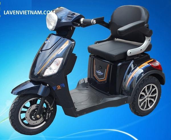 Xe điện 3 bánh Kalima X3-LV10F2 màu xanh
