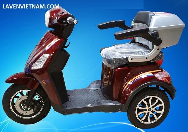 Xe điện 3 bánh Kalima X3-LV10F2C màu đỏ