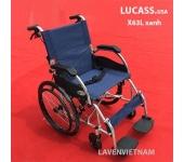 Xe lăn Lucass X63L xanh