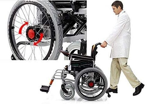 Hệ thống phanh hãm linh hoạt, bảo đảm cho sự di chuyển của người dùng.