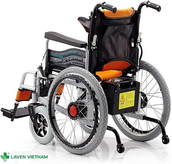 Bánh xe được thiết kế khung đôi với các ống thép dày có thể chịu được trọng lượng tới 150kg.