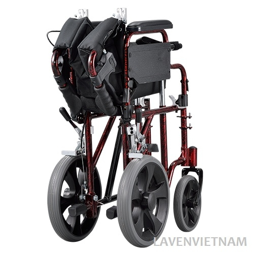 Xe lăn Gấp gọn dễ dàng và siêu nhỏ giúp bạn dễ mang đi du lịch