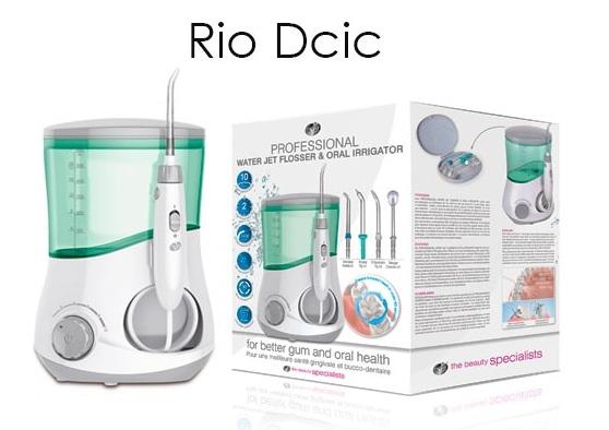 Máy tăm nước gia đình Rio DCIC - Anh