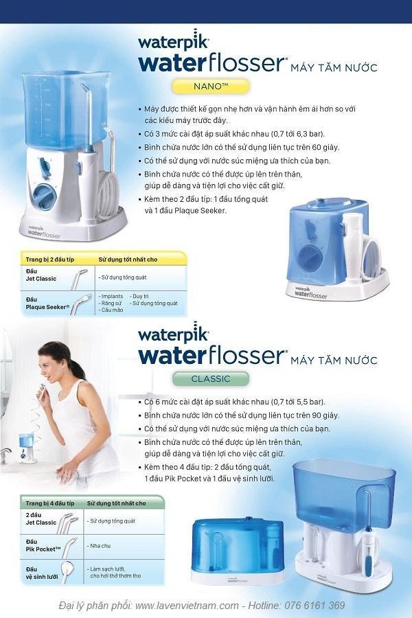 Máy tăm nước Waterpik WP-250 (WP250)