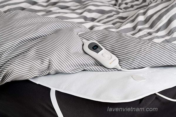 Thiết kế đệm sưởi mềm mại cho bạn sử dụng an toàn