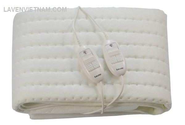Với kích thước 150 cm (chiều dài) x 140 cm (chiều rộng), Đệm điện đôi Beurer TS26 phù hợp với giường đôi. Thật là vui khi được trải qua một đêm ấm cúng cho cả hai.
