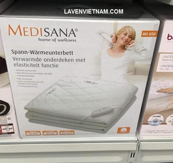 Với Đệm sưởi HU650 của Medisana, bạn không còn phải nằm trên một chiếc giường lạnh lẽo nữa mà trở thành một chiếc giường ngâm mềm mại vào buổi tối.