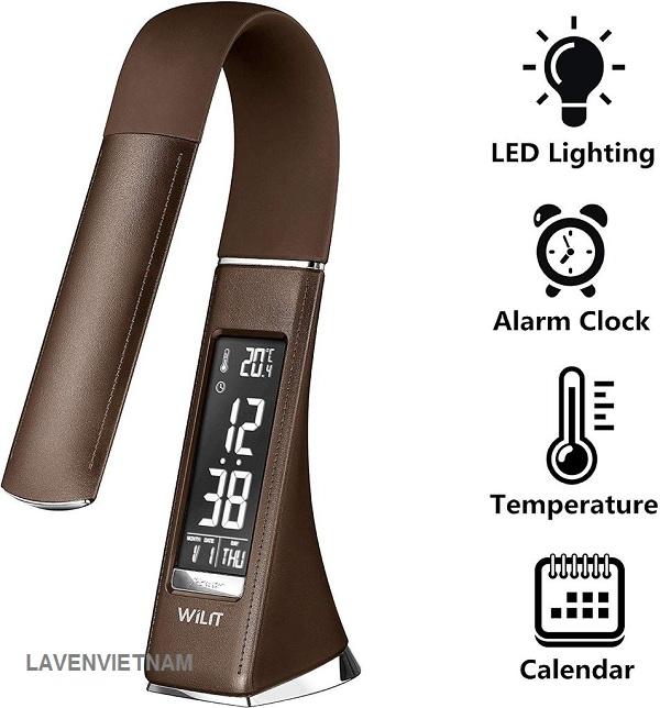 Đèn bàn chống cận với công nghệ LED mới nhất cho ánh sáng nhẹ nhàng ấm cúng với mức sáng cao hơn thông thường